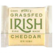 McCall's Irish Grassfed Aged Cheddar 6 Months
