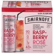 Smirnoff Seltzer Raspberry Rose