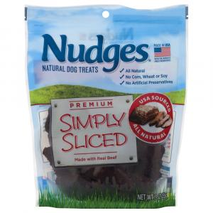 Nudges Simply Sliced Real Beef Dog Treats