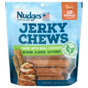 Nudges Chicken Jerky Chews Small