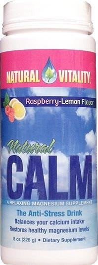 Natural Calm Anti Stress Drink Mix Raspberry Lemon