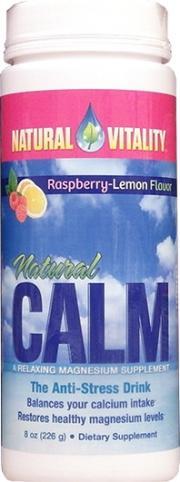 Natural Calm Anti Stress Drink Mix Raspberry Lemon