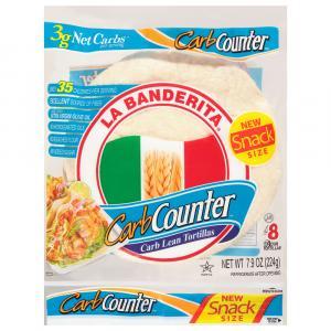 La Banderita Carb Counter Snack Size Tortillas