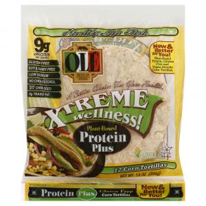 Ole Xtreme Wellness! Plant-Based Protein Plus Corn Tortillas