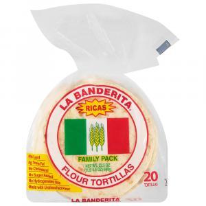 La Banderita Flour Tortillas