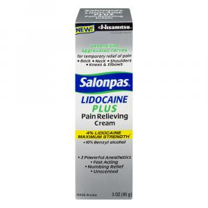 Salonpas Lidocaine Plus Cream