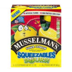 Musselman's Sour Lemon Applesauce