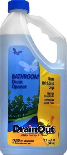 Drainout Bathroom Drain Opener
