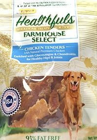 Ruffin It Farmhouse Healthfuls Chicken Tender Dog Treats