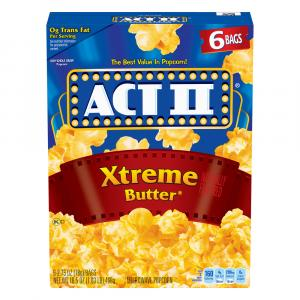 Act Ii Xtreme Butter Popcorn