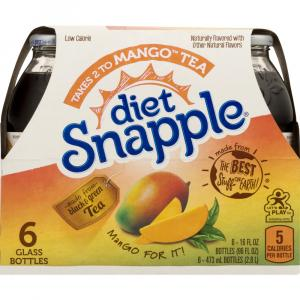 Snapple Diet Mango Tea
