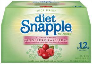 Snapple Diet Cranberry Raspberry Iced Tea