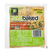 Baked Tofu Sesame Ginger