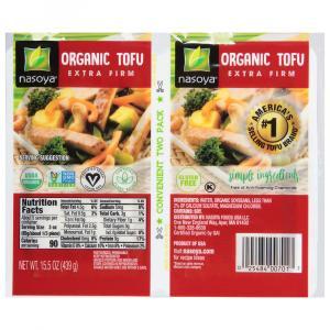 Nasoya Organic Extra Firm Tofu Twin Pack