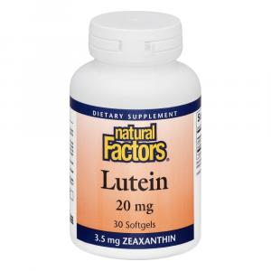 Natural Factors Lutein 20 Mg