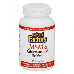 Natural Factors Msm & Glucosamine Formula