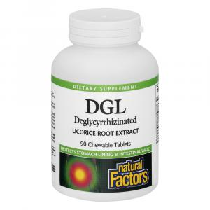 Natural Factors Dgl Licorice Extract