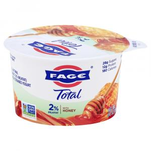 Total Fage Honey 2% Greek Yogurt