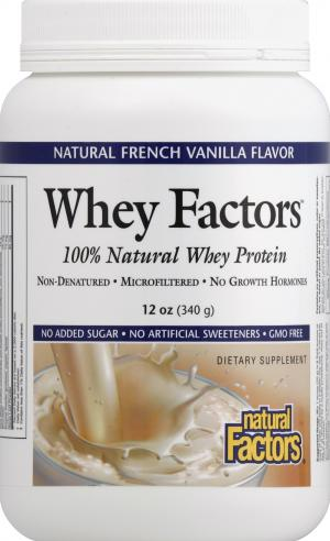 Whey Factors Vanilla Powder