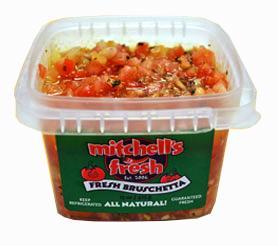 Mitchell's Fresh Bruschetta