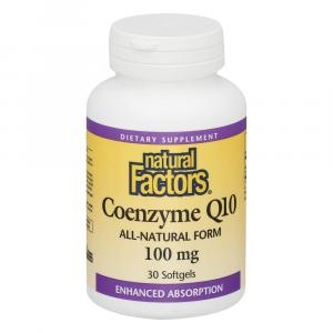 Natural Factors Coq10 100 Mg