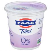 Fage Total 0% Plain Yogurt