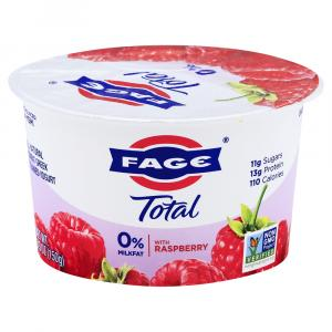 Fage Total 0% Greek Strained Yogurt with Raspberry