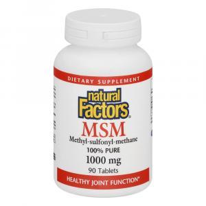 Natural Factors Msm 1000 Mg Lignisul