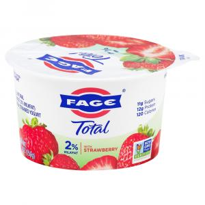Fage Total 2% Greek Strained Yogurt With Strawberry