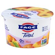 Total Fage Peach 0% Yogurt