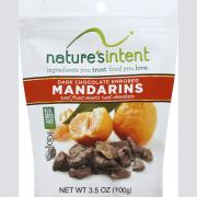 Nature's Intent Dark Chocolate Enrobed Mandarins