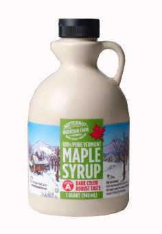 Butternut Mountain Farm Amber Pure Maple Syrup