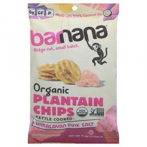 Barnana Organic Plantain Chips Himalayan Pink Sea Salt
