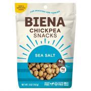 Biena Chickpea Snacks Sea Salt
