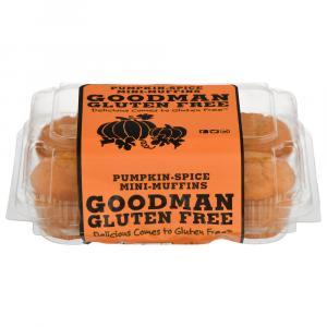Goodman's Gluten Free Pumpkin Spice Mini Muffins