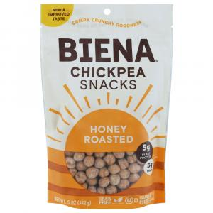 Biena Chickpea Snacks Honey Roasted