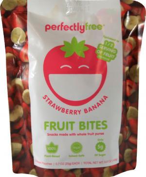 Perfectly Free Strawberry Banana Fruit Bites