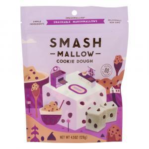 Smashmallow Cookie Dough Snackable Marshmallows