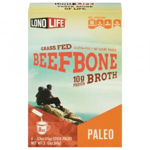 Lono Life Grass Fed Beef Bone 10g Protein Broth
