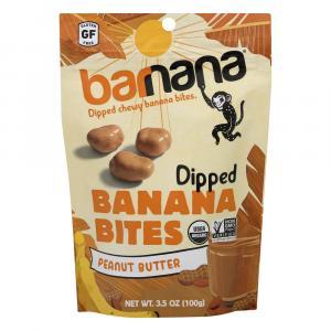 Barnana Organic Banana Bites Peanut Butter
