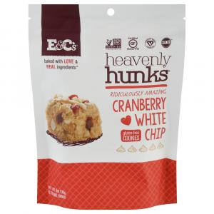 Heavenly Hunks Gluten Free Cranberry White Chip Cookies