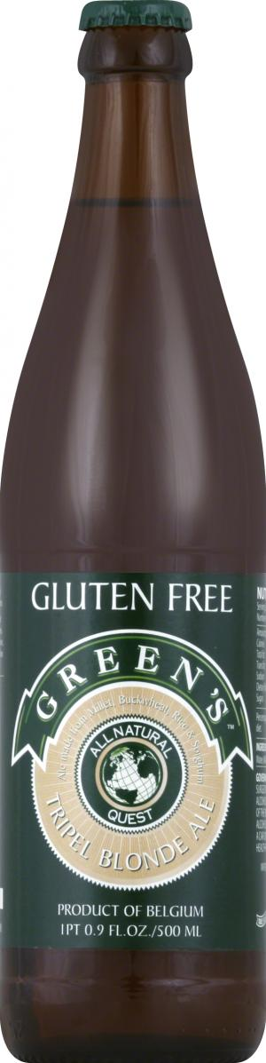 Green's Gluten Free Quest Triple Ale
