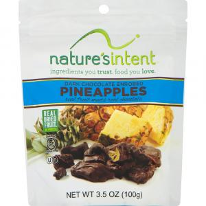 Nature's Intent Dark Chocolate Enrobed Pineapples