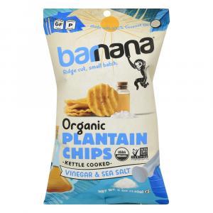 Barnana Organic Plantain Chips Sea Salt & Vinegar