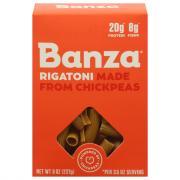 Banza Rigatoni Chickpea Pasta
