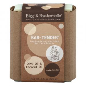 Bigg's & Featherbelle Bar-Tender Handmade Natural Soap
