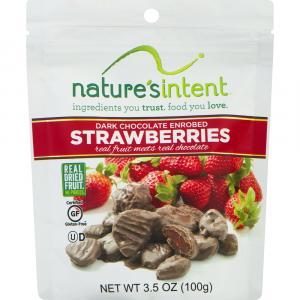Nature's Intent Dark Chocolate Enrobed Strawberries