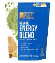 Better Body Foods Organic Energy Blend Coffee & Maca