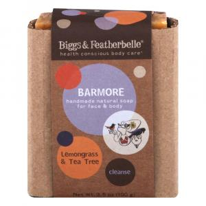Biggs & Featherbelle Barmore Bar Soap Lemongrass & Tea Tree
