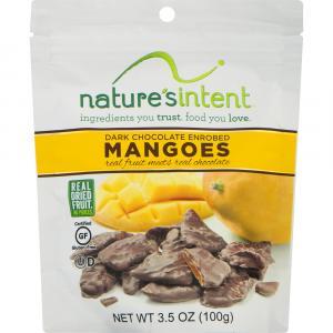 Nature's Intent Dark Chocolate Enrobed Mangoes